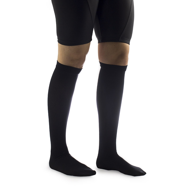 cd6b88c0257 Covidien TED Black Knee Length Anti-Embolism Stockings for Continuing Care     Sports Supports